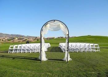 Wedding Ceremony at Country Club